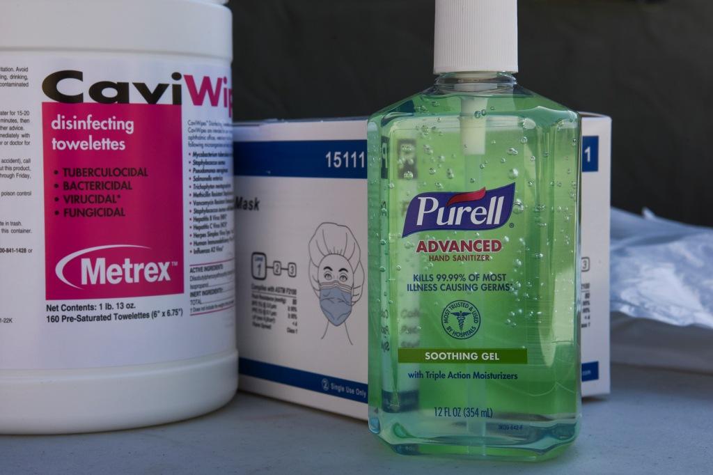 Desinfectantes coronavirus