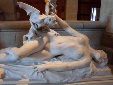 Estatua parálisis del sueño