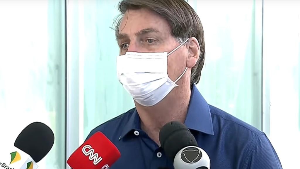 Bolsonaro con coronavirus